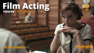 news - FILM ACTING COURSE with Alina Zievakova