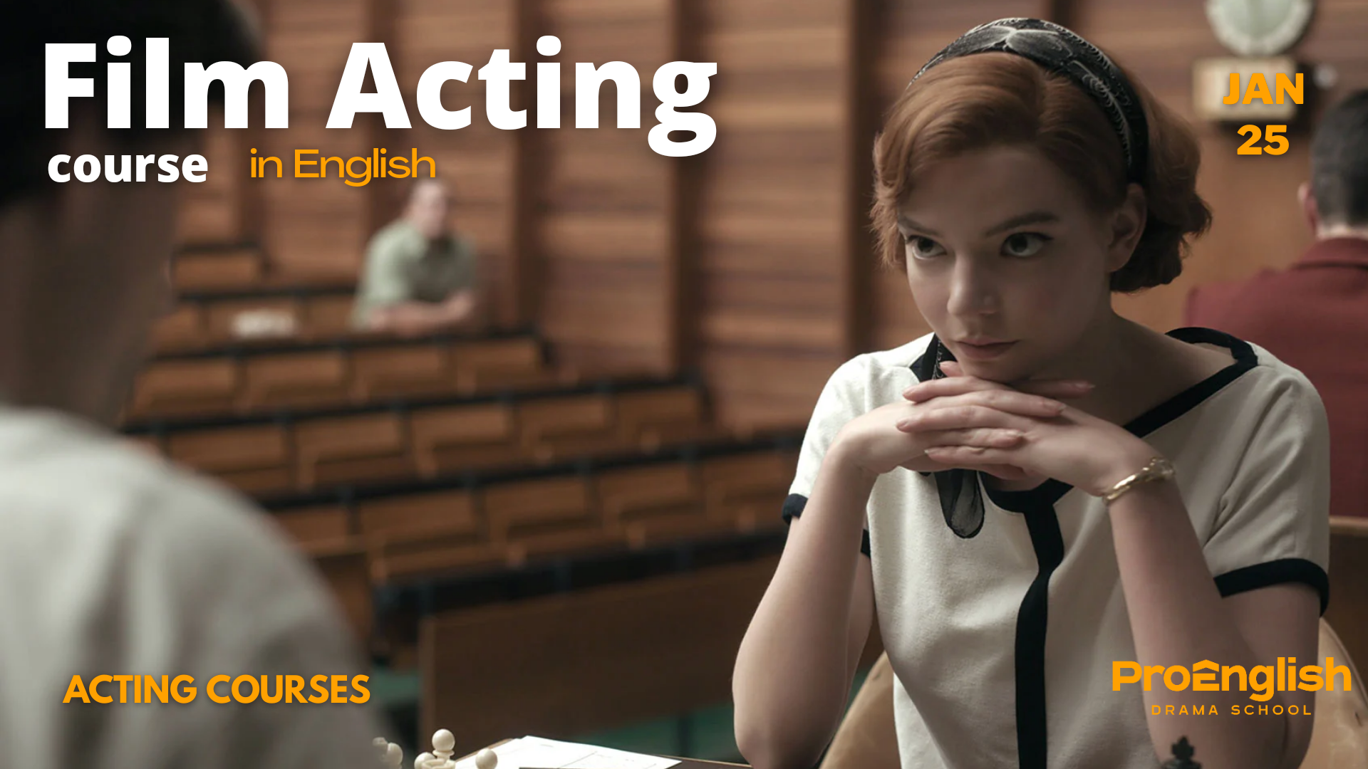 news - 25.01.2021 – FILM ACTING COURSE with Alina Zievakova