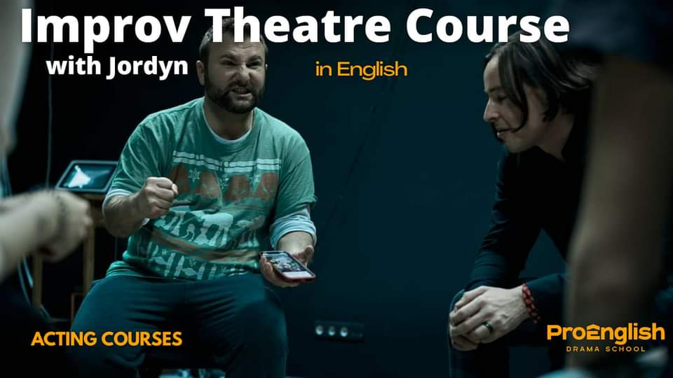 news - 12.02.2021 – Improv Theatre Course with Jordyn (USA)