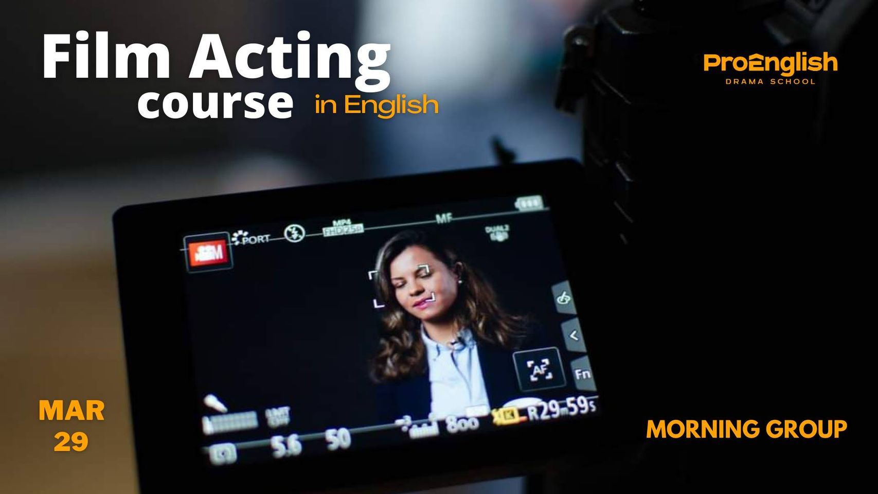 news - 29.03.2021 – Film Acting   Morning Group