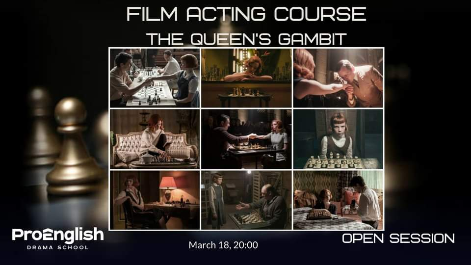 news - 18.03.2021 – Film Acting Course | Open Session The Queen