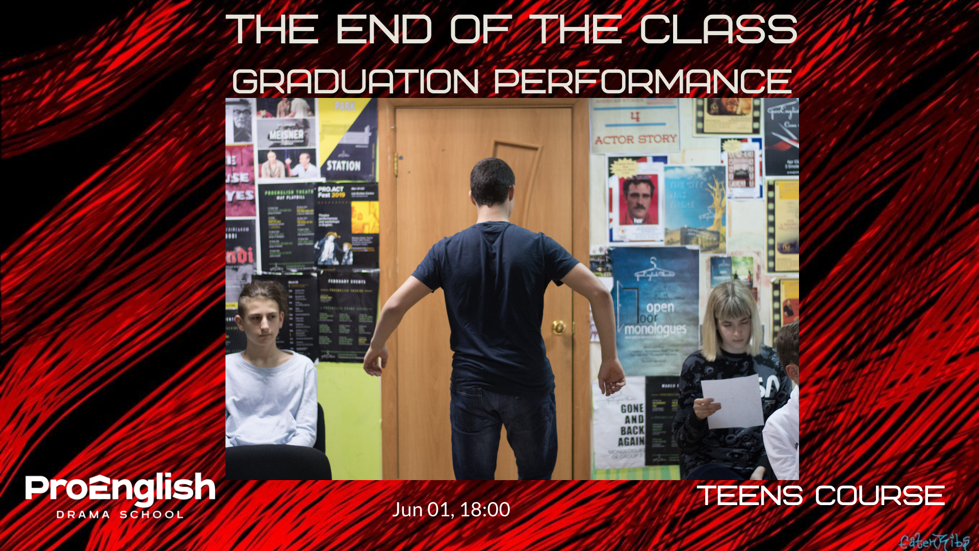 news - 01.06.2021 – The End of the Class, teen group graduation show
